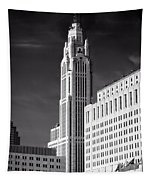 The Leveque Tower Of Columbus Ohio Tapestry