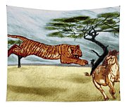 The Lunge Tapestry