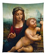 The Madonna Of The Yarnwinder Tapestry