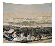 The Meadow Of San Isidro Tapestry
