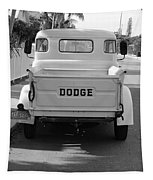 The Old Dodge  Tapestry
