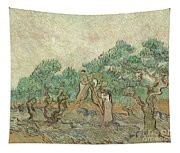 The Olive Orchard, 1889 Tapestry
