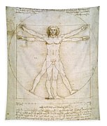 The Proportions Of The Human Figure Tapestry