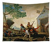 The Quarrel In The New Tavern Tapestry