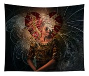 Queen Of Hearts Tapestry