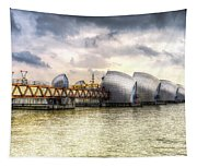 The Thames Barrier London Tapestry