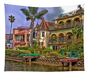 The Venice Canal Historic District Tapestry