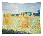 The Young Ladies Of Giverny, Sun Effect Tapestry