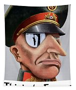 This Is The Enemy - Ww2 Poster Tapestry