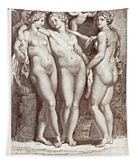Three Graces Tapestry