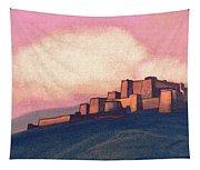 Tibetan Fortress Tapestry