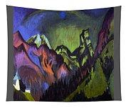 Tinzenhorn Zugen Gorge Near Monstein Tapestry