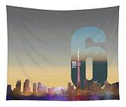 Toronto Skyline - The Six Tapestry