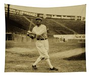 Tris Speaker With Boston Red Sox 1912 Tapestry