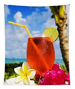 Tropical Cocktail Tapestry