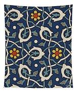 Turkish Textile Pattern Tapestry