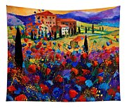 Tuscany Poppies  Tapestry