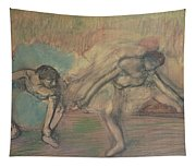 Two Dancers Resting Tapestry
