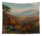 Valley Of The Catawissa In Autumn Tapestry