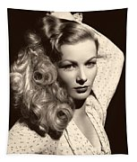 Veronica Lake 1952 Tapestry