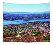 View From The Top Tapestry