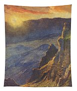 Vintage Hawaiian Art Tapestry