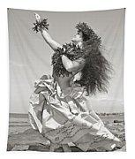 Wahine Hula Tapestry