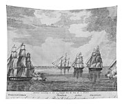 War Of 1812: Sea Battle Tapestry