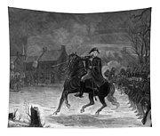 Washington At The Battle Of Trenton Tapestry