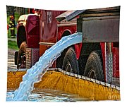 Water Dump Tapestry