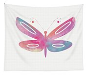 Watercolor Butterfly 2- Art By Linda Woods Tapestry