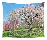 Weeping Cherry Tree Tapestry