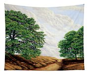 Windblown Clouds Tapestry