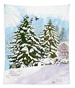 Winter Delight Tapestry