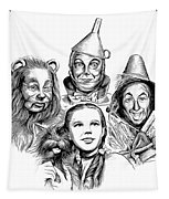 Wizard Of Oz Tapestry