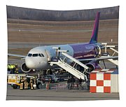 Wizz Air Jet And Fire Brigade   Tapestry