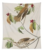 Wood Thrush Tapestry