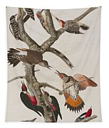 Woodpeckers Tapestry