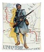 World War I: French Poster Tapestry