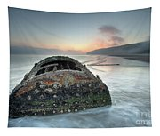 Wreck Of Laura - Filey Bay - North Yorkshire Tapestry
