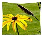 1 Yellow Daisy 2 Yellow Bugs Tapestry