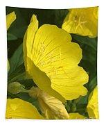 Yellow Evening Primrose Tapestry