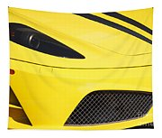 Yellow Stradale Tapestry