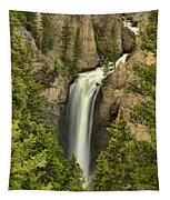 Yellowstone Tower Falls 2018 Tapestry