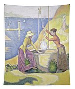 Young Women Of Provence At The Well, 1892 Tapestry