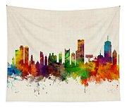 Boston Massachusetts Skyline Tapestry