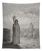 Engraving From The Dore Bible Tapestry