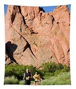 Garden Of The Gods Ten Mile Run In Colorado Springs Tapestry