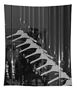 10 Hangers In Black And White Tapestry