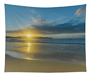 Sunrise Seascape At The Beach Tapestry